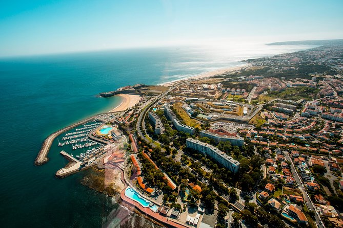 Lisbon Private Helicopter Tour: Fly over the Lisbon Sun Coast, Estoril & Cascais