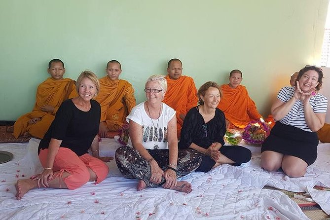 Siem Reap Monk Blessing 1-Day Tour