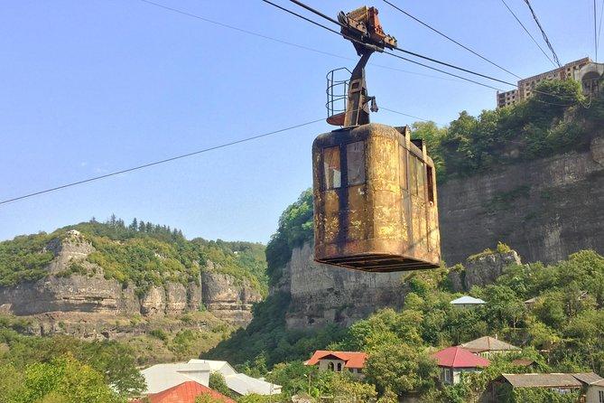One Day Tour To Georgian Chernobyl - Chiatura and Katskhi Pillar