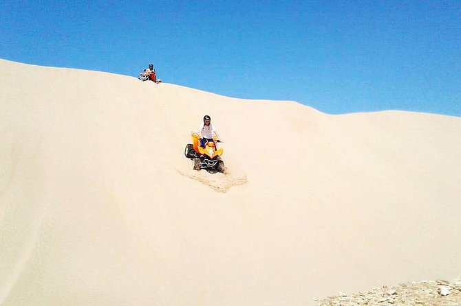 3 heures de quad tout-terrain hors-piste: sensations fortes à la plage et dans les dunes