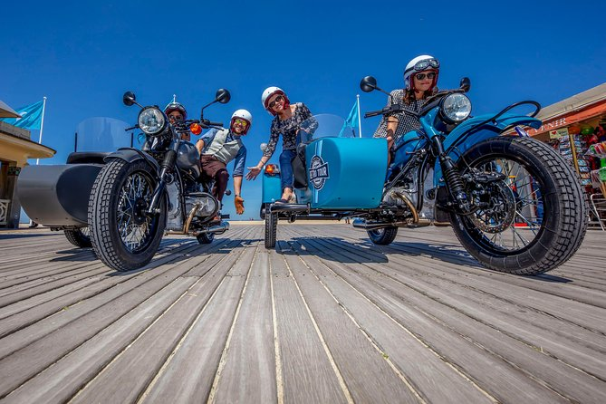 Private tour: visit Deauville in a sidecar
