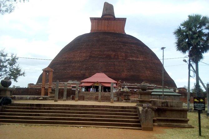day trip Anuradhapura ancient city & Wilpattu safari from Colombo or around