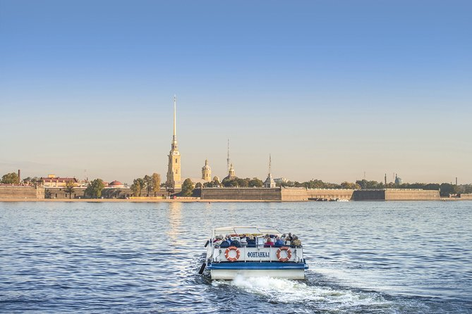 Canal Cruise and Private Walking Tour of St. Petersburg