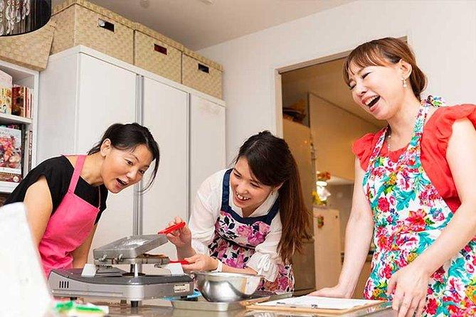 東京の料理専門家によるプライベート和菓子作り