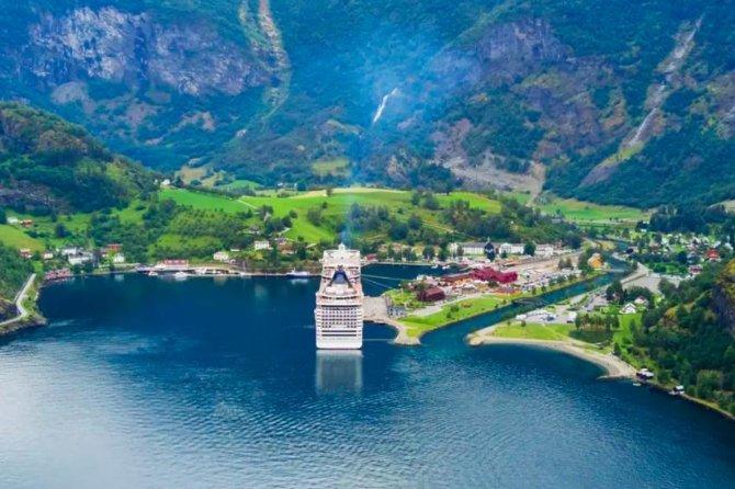 Bergen til Flam Cruise-King of Fjords