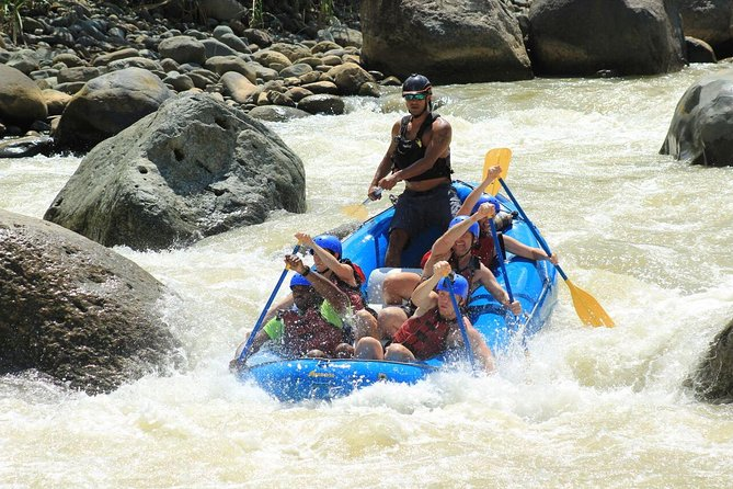 Whitewater Rafting Naranjo River from Manuel Antonio Class III-IV