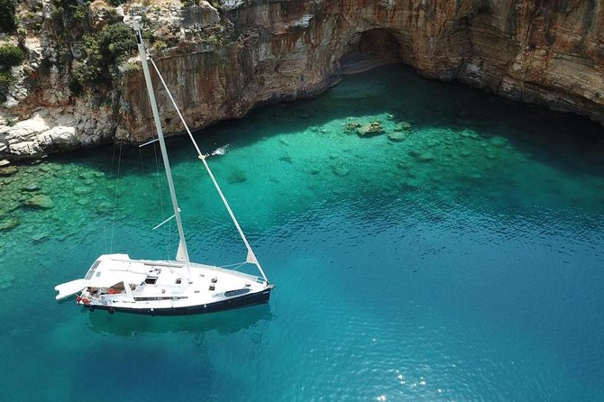Private Sailing Yacht With Crew in Kas - Kekova Tour
