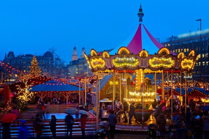 Zurich Christmas Holiday Tour on Bahnhofstrasse and Christmas Markets