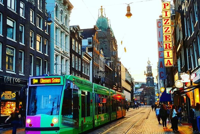 Amsterdam City in a Nutshell, all famous Amsterdam sights in one tour