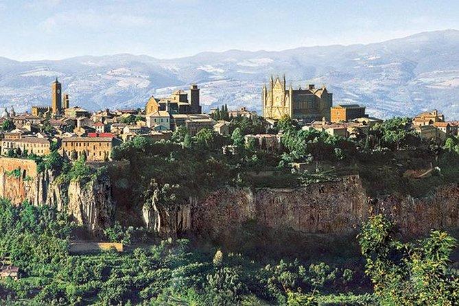 Orvieto and Civita di Bagnoregio from Civitavecchia