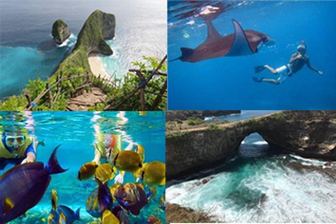 NUSA PENIDA DAY TOUR with COMPLETE PACKAGE