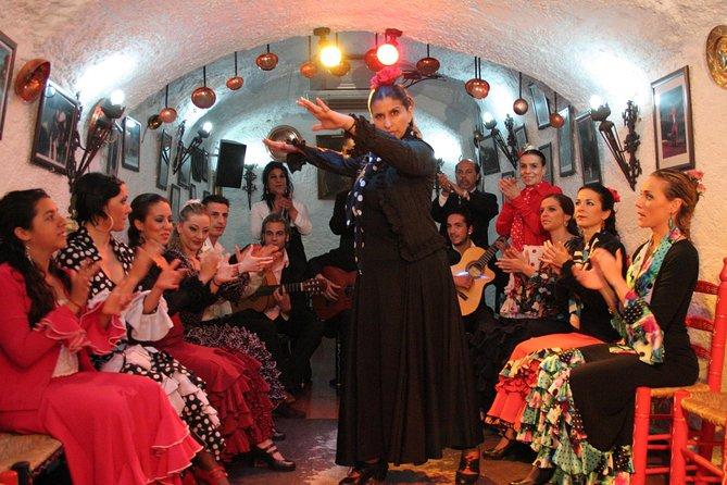 Sacromonte Flamenco Show og Albaicin Walking Tour fra Granada