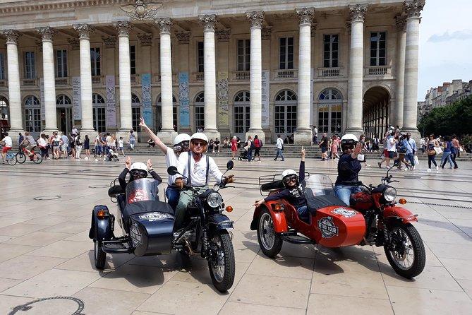 Bordeaux in sidecar so fun!, Bordeaux, FRANCIA
