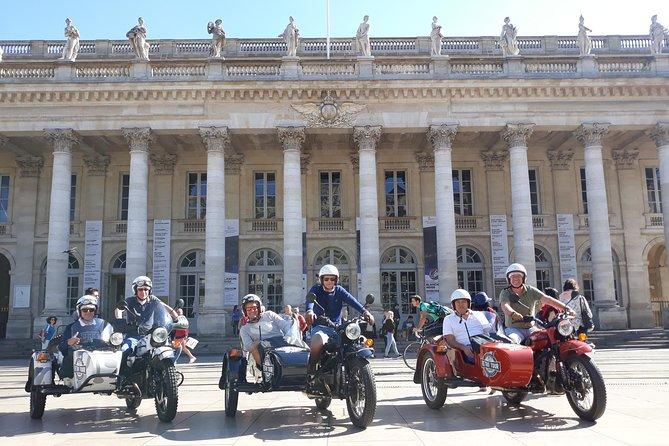 Private tour of Bordeaux in a sidecar, Bordeaux, FRANCIA