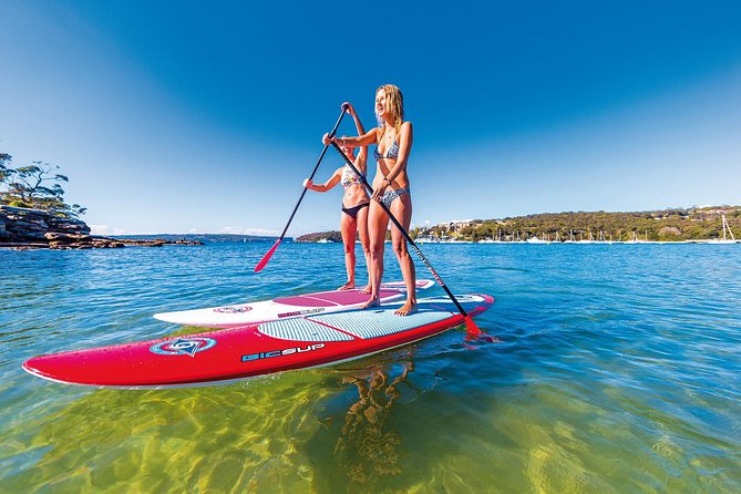 Sydney SUP Board Hire on Pittwater - (2) Hours on Stand Up Paddle Board