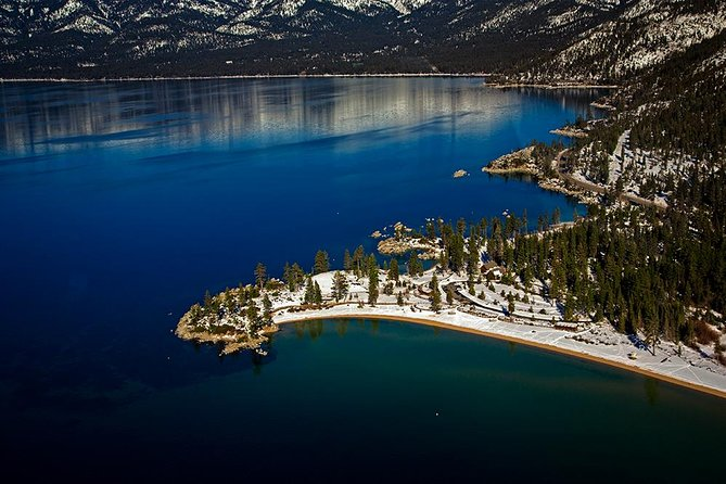 Tahoe's Sand Harbor Helicopter Tour