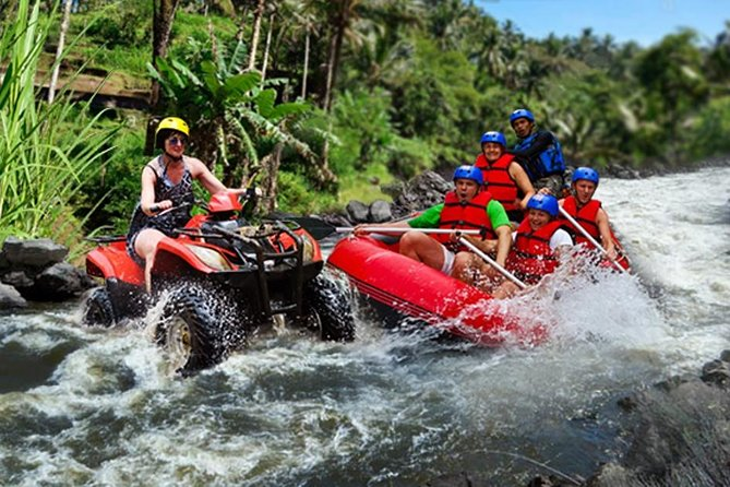 Bali Quad Biking and White Water Rafting