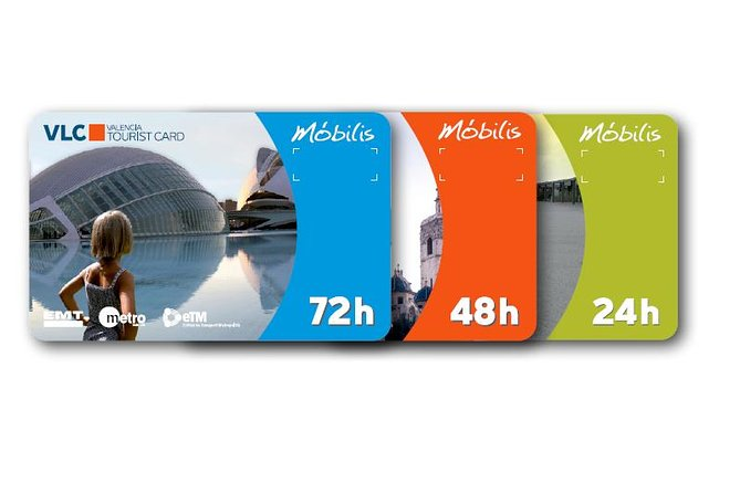 Valencia Tourist Card 24, 48 and 72 hours