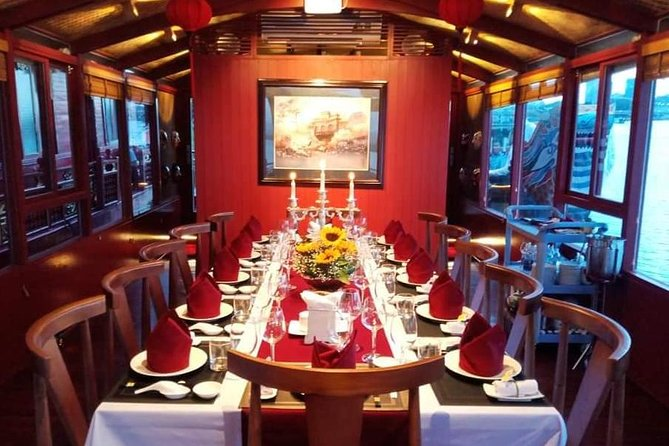 Huong River sunset cruise tour with dinner
