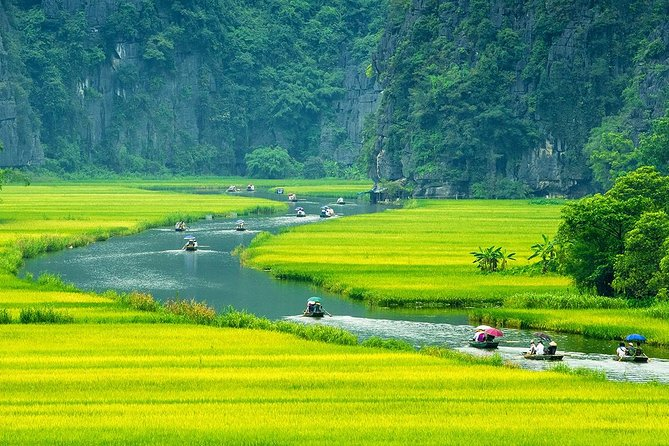 2-day Luxury Ninh Binh: Hoa Lu - Mua Cave - Tam Coc and Cuc Phuong National Park