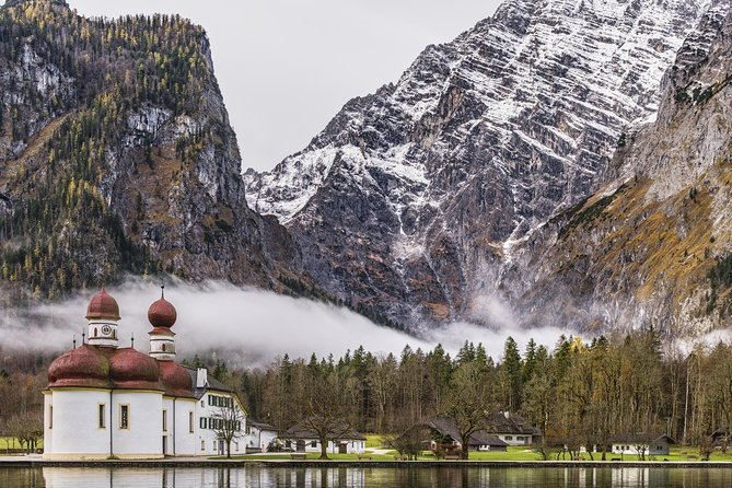 München-meer Königssee en Berchtesgaden-zoutmijn Privérondleiding met rondvaart over het meer