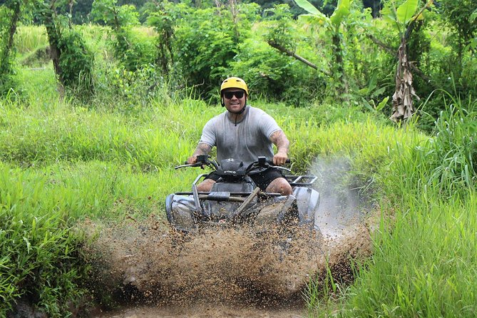 Quad Bike, White Water Rafting And Monkey's Temple Combo Tour