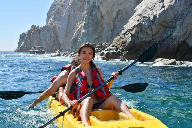 Los Cabos Arch and Playa del Amor Tour by Glass Bottom Kayak