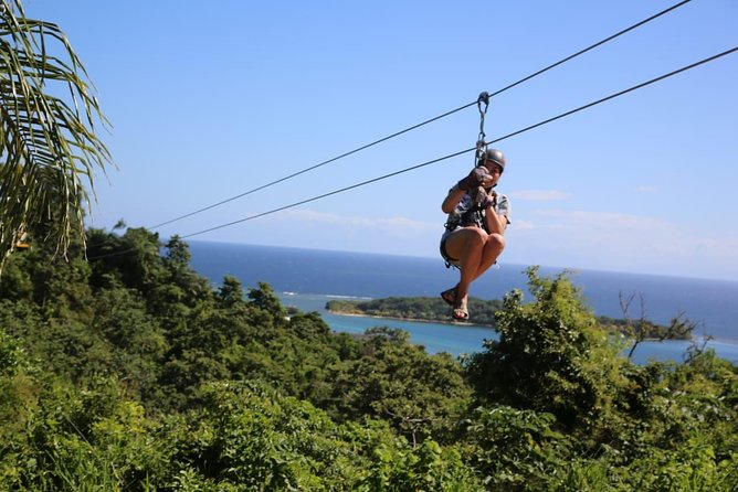 Shore Excursion: Roatan Extreme Zip Line with Monkey/Sloths and Snorkel