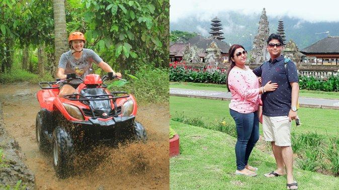 Bali Quad ATV with Ubud Halfday Tour
