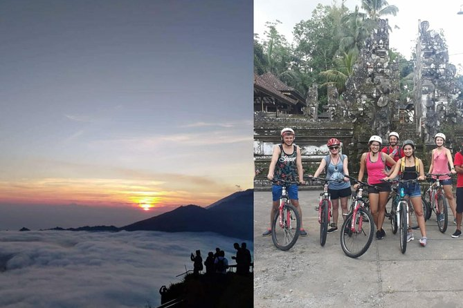 Bali Sunrise Trekking with Downhill Cycling