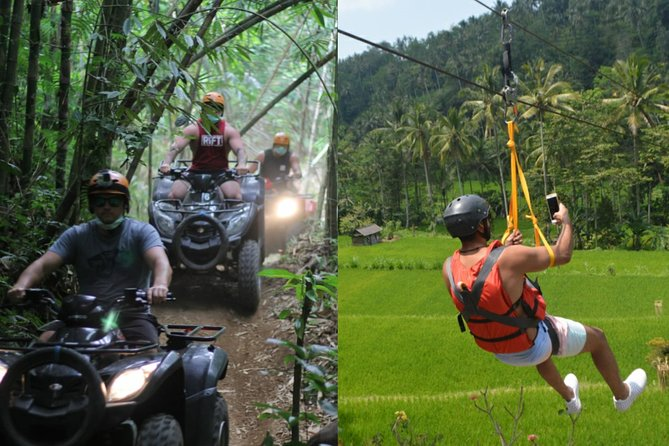 Bali Quad Bike ATV with Flying Fox