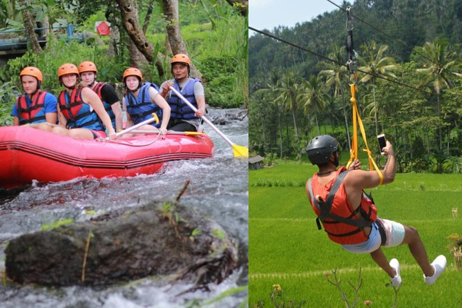 Bali Rafting with Flying Fox