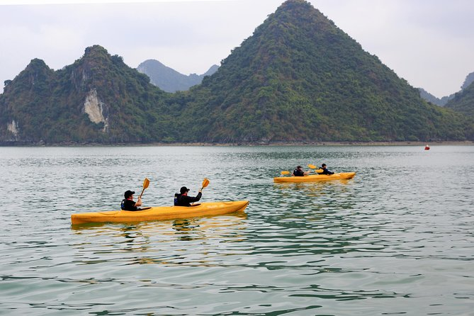 Halong Bay, Thien Cung cave and Kayak with Incredible Cruise