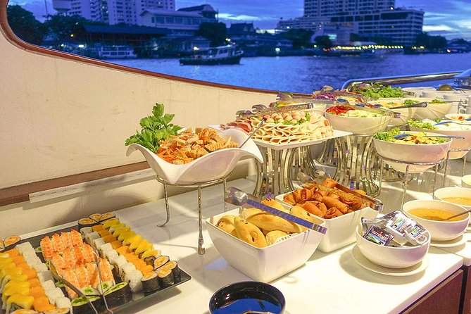 Grand Pearl : Luxury Dinner Cruise from Bangkok with Transfer photo 12