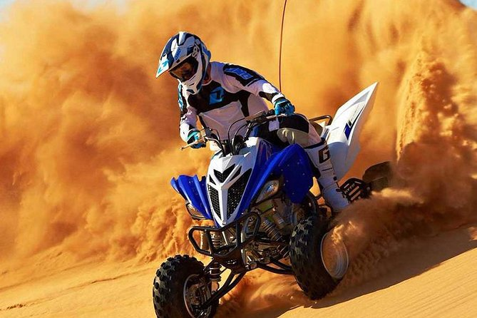 Desert Safari With Quad Bike and Arabian Show With BBQ Dinner