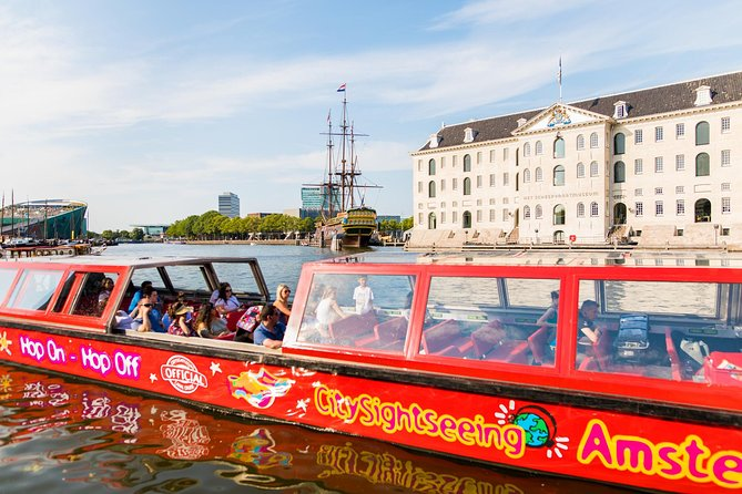City Sightseeing Amsterdam Hop-On Hop-Off Boat