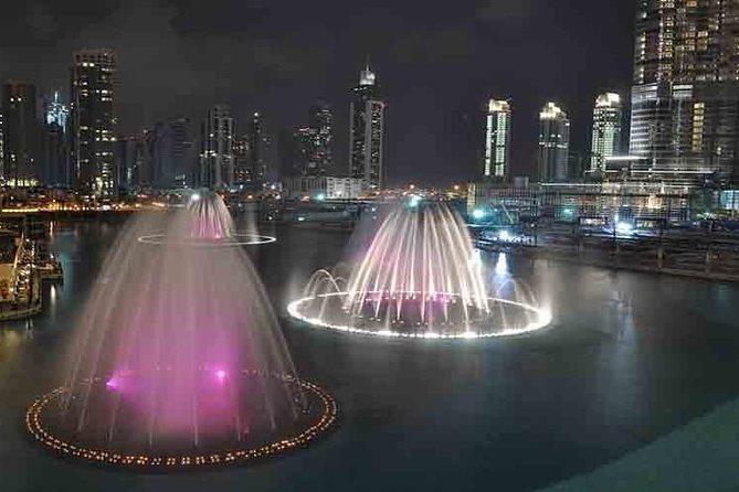 Dubai Fountains Show Lake Ride