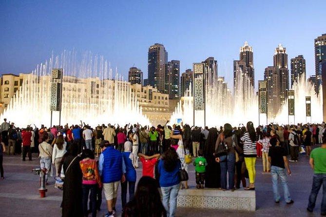 Dubai Fountain Walk Bridge