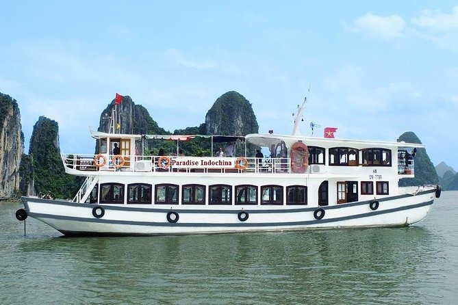 Halong Full Day from Hanoi: Deluxe Cruise, Caves, Kayaking in Floating Village