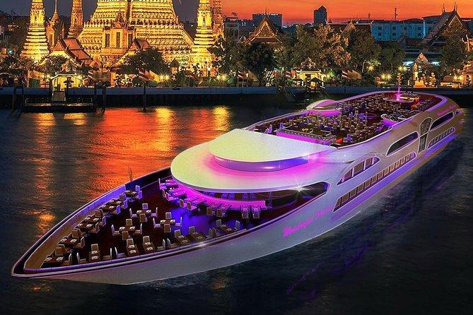 Bangkok incroyable coucher de soleil et dîner