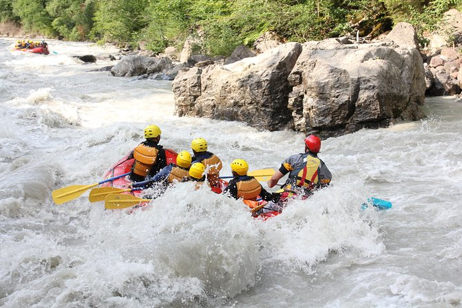 Rafting in Interlaken from Lucerne