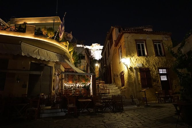 Athens at Night Small-Group Walking Tour with Dinner photo 2