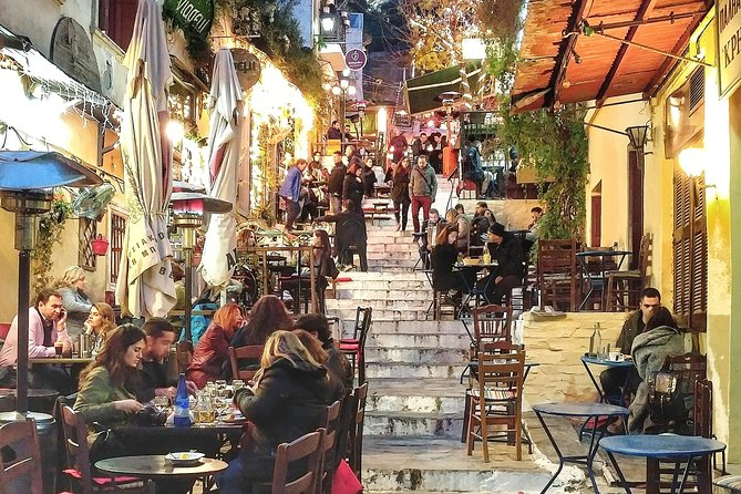 Athens at Night Small-Group Walking Tour with Dinner photo 8