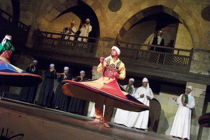 suffi dance Folk Night Show at Islamic Cairo from Cairo or Giza photo 6
