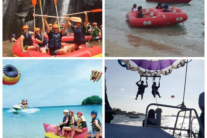 Ocean walker, parasailing adventure and banana boat