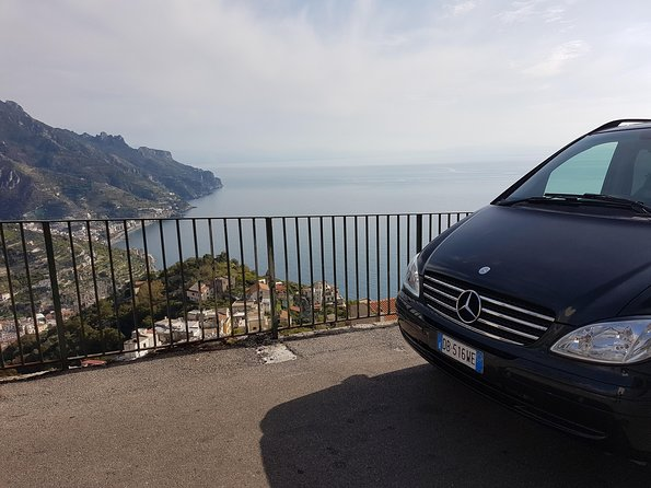 Transfer from Naples to Amalfi-Ravello with 2 hours Private Tour in Pompeii