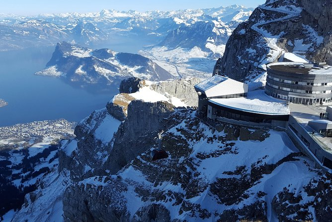 Mt. Pilatus and Lucerne Winter Day Trip from Zurich