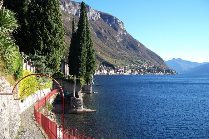 Varenna on the Como Lake, the Villa Monastero and the Patriarch's Greenway path