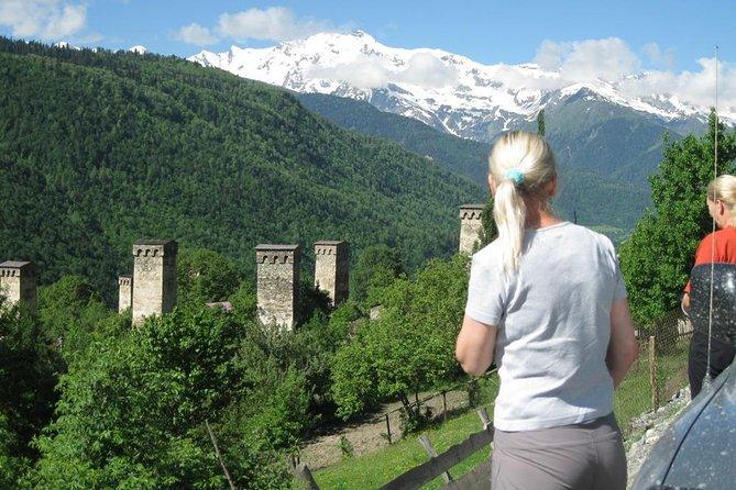 6 days Svaneti private tour ( Mestia, Ushguli, Varzia-hiking)