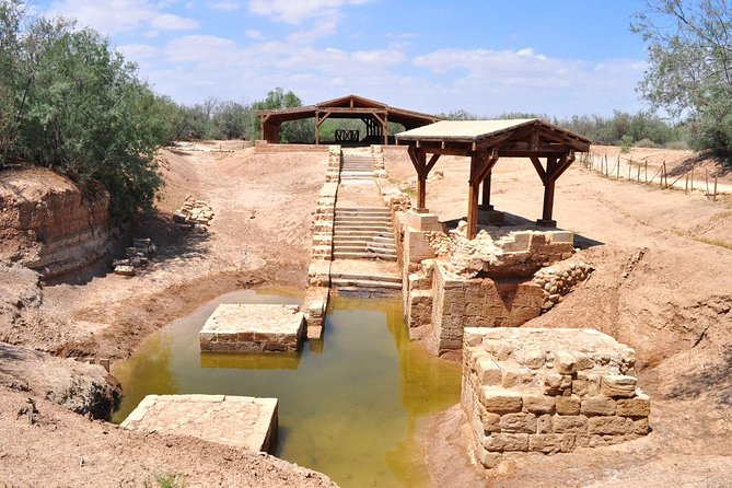 Private Day Tour from Amman to Bethany, the Dead Sea, Mt.Nebo and Madaba